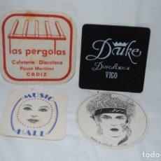 Abrebotellas y sacacorchos de colección: POSAVASOS LAS PERGOLAS CADIZ , Y OTROS . Lote 175149898