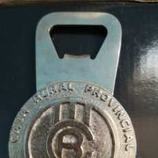 Abrebotellas y sacacorchos de colección: ABREBOTELLAS CAJA RURAL PROVINCIAL CASTELLÓN . Lote 178779715