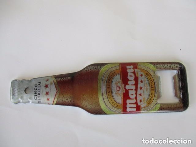 ABREBOTELLAS CERVEZAS MAOU (Coleccionismo - Botellas y Bebidas - Abrebotellas y Sacacorchos)