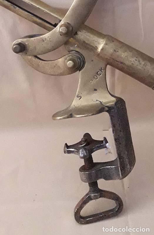 Abrebotellas y sacacorchos de colección: Antiguo sacacorchos mostrador Shamrock - Foto 5 - 195622657