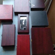 Abrebotellas y sacacorchos de colección: GRANDÍSIMO LOTE-----8 ESTUCHES PARA VINO,,,GENIALES PARA HACER REGALOS. Lote 196588417