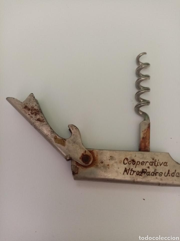 Abrebotellas y sacacorchos de colección: Antiguo sacacorchos con publicidad - Foto 6 - 197776082