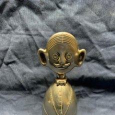 Abrebotellas y sacacorchos de colección: TAPON BOTELLA METAL PLATEADO SOMMELIER CR ITALY 13 X 5 X 5 CM. Lote 202591938