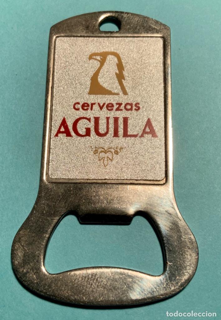 ABRIDOR DE CERVEZAS EL ÁGUILA (Coleccionismo - Botellas y Bebidas - Abrebotellas y Sacacorchos)