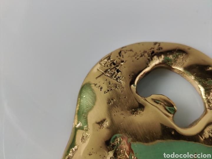 Abrebotellas y sacacorchos de colección: Abridor abrebotellas escultura de David Marshall - Foto 3 - 211677053