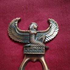 Abrebotellas y sacacorchos de colección: ABREBOTELLAS ESTILO EGIPTO. Lote 219204108