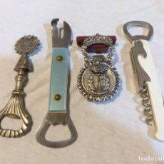 Abrebotellas y sacacorchos de colección: LOTE ABRELATAS , ABREBOTELLAS Y ABRECHAPAS. Lote 221984197