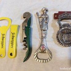 Abrebotellas y sacacorchos de colección: LOTE DE ABRIDORES VARIADOS. Lote 221986651