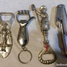Abrebotellas y sacacorchos de colección: LOTE DE ABRIDORES VARIADOS. Lote 221987666
