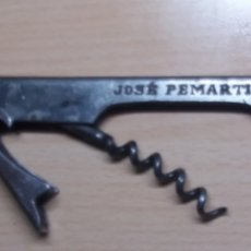 Abrebotellas y sacacorchos de colección: ABREBOTELLAS SACACORCHOS METAL JEREZ DE LA FRONTERA JOSE PEMARTIN. Lote 224201998