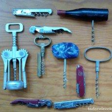 Abrebotellas y sacacorchos de colección: LOTE DE 10 SACACORCHOS ABREBOTELLAS. W. Lote 224579410