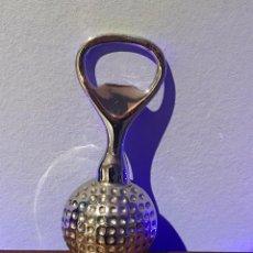 Abrebotellas y sacacorchos de colección: ABRIDOR CON FORMA DE PELOTA DE GOLF. Lote 232390640