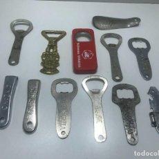 Abrebotellas y sacacorchos de colección: LOTE DE ABRIDORES DE VARIAS MARCAS. Lote 234180520