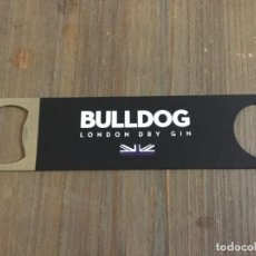 Ouvre-bouteilles et tire-bouchons à collectionner : BULLDOG - ABRIDOR METÁLICO - GINEBRA INGLESA BULLDOG LONDON DRY GIN. Lote 237148580