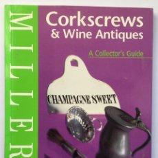 Abrebotellas y sacacorchos de colección: SACACORCHOS - CORKSCREWS & WINE ANTIQUES. Lote 266476558