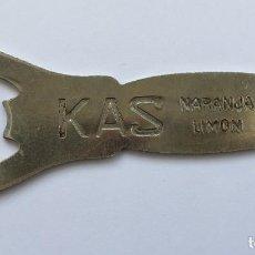 Abrebotellas y sacacorchos de colección: ABREBOTELLAS KAS. Lote 269993698