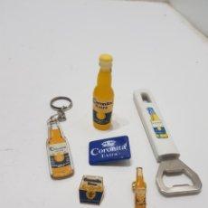 Ouvre-bouteilles et tire-bouchons à collectionner : BONITO LOTE DE PUBLICIDAD CERVEZA CORONITA. Lote 276393513