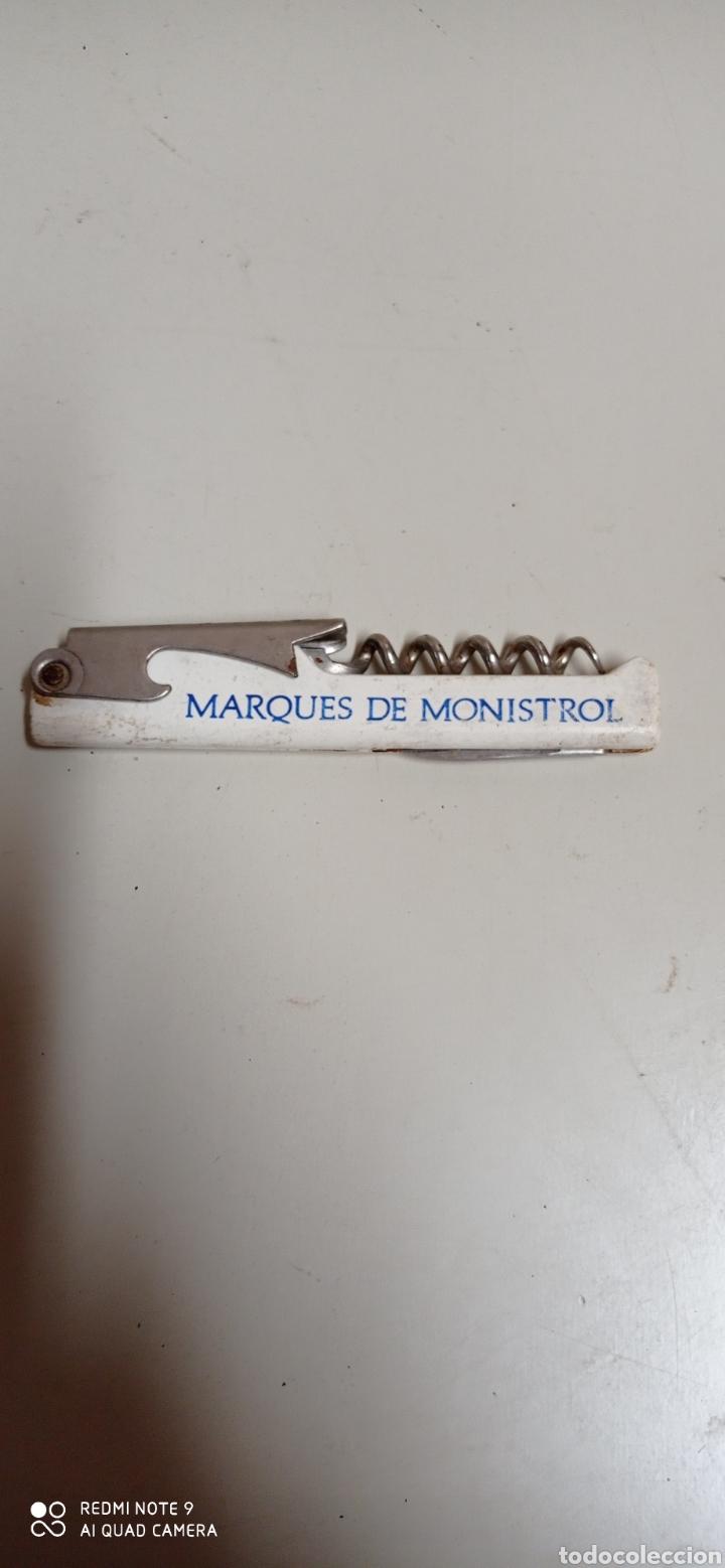 Abrebotellas y sacacorchos de colección: Dos abrebotellas sacacorchos de Marqués de Monistrol, diferentes para limpieza. - Foto 7 - 278158338