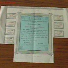Colecionismo Ações Espanholas: EL ESLA S.A MADERAS - -BILBAO .. BILBAO 1897. Lote 22941016