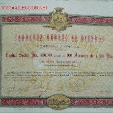 Coleccionismo Acciones Españolas: ACCIÓN TRANVÍA BILBAO. Lote 12214377
