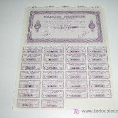 Coleccionismo Acciones Españolas: ACCION CELULOSA ALMERIENSE SOCIEDAD ANONIMA 1975. Lote 105896303