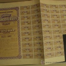 Coleccionismo Acciones Españolas: ACCIÓN DE LA S.A. FÁBRICA SAN FRANCISCO DEL DESIERTO, BILBAO, AÑO 1913.. Lote 19858207