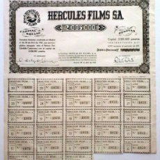 Collectionnisme Actions Espagne: HERCULES FILMS S. A.. Lote 198848787