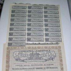 Coleccionismo Acciones Españolas: COMPAÑIA ESPAÑOLA DE MINAS DEL RIF ACCION DE 1935. Lote 105896300