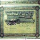 Coleccionismo Acciones Españolas: ACCION 1902.- SOCIEDAD ESPAÑOLA DE PIEDRA VIDRIO Y CONSTRUCCIONES GARCHEY DE 500 PTS.. Lote 30199979