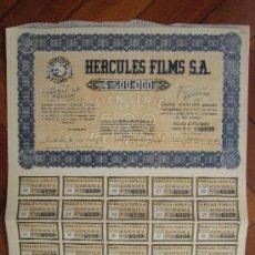 Coleccionismo Acciones Españolas: ACCIÓN HERCULES FILMS S.A. MADRID, 1942.. Lote 30996228