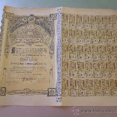 Coleccionismo Acciones Españolas: ACCIÓN COMPAÑIA ESPAÑOLA DE COLONIZACIÓN 1916. Lote 32383179