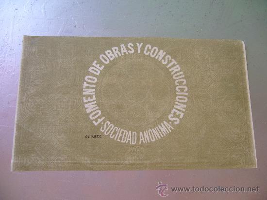 Coleccionismo Acciones Españolas: Acción Fomento de Obras y Construcciones 1956 - Foto 2 - 32383357