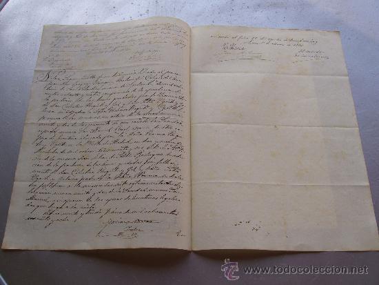 Coleccionismo Acciones Españolas: Acción de la sociedad especial minera San Manuel - Lorca 1863 Sierra Almagrera Cuevas Almería - Foto 2 - 33084687
