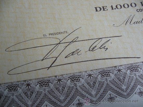 Coleccionismo Acciones Españolas: Acción de Pepsi Cola embotelladora madrileña S.A. 1957 - Foto 2 - 155285666