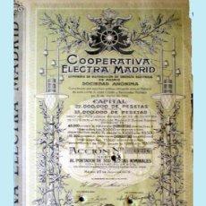 Coleccionismo Acciones Españolas: 1926. ACCION DE 500 PTS. SERIE A.. Lote 38456054