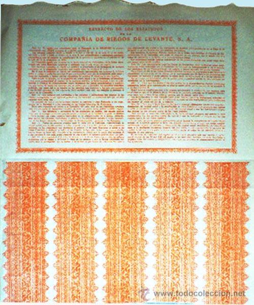 Coleccionismo Acciones Españolas: Reverso - Foto 2 - 130411870