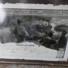 Coleccionismo Acciones Españolas: TITULO SOCIO FERROCARRILES RENFE. Lote 44979749