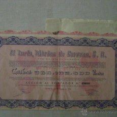 Coleccionismo Acciones Españolas: ACCION EL TURIA,FABRICA DE CERVEZAS,S.A.. Lote 47415885