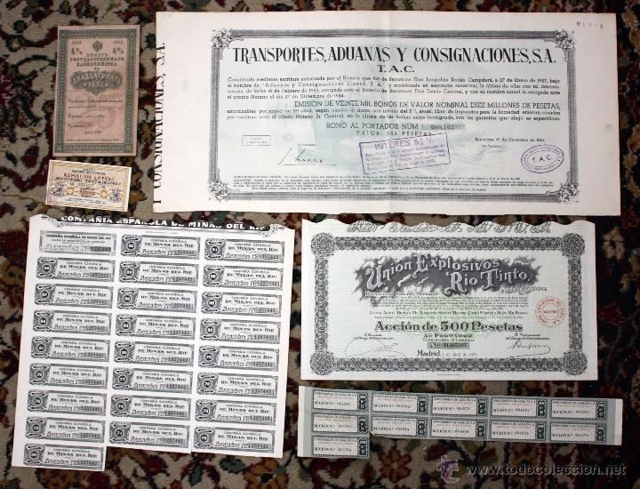 Coleccionismo Acciones Españolas: LOTE DE 83 ACCIONES VARIADAS. DIFERENTES TIPOS Y PAISES (RUSAS, POLACAS, ESPAÑOLAS...ETC) - Foto 5 - 49301515