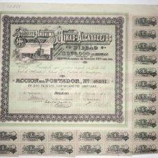 Coleccionismo Acciones Españolas: ACCION SOCIEDAD ANONIMA MINAS DE ALCARACEJOS. BILBAO, AÑO 1898. Lote 49670691