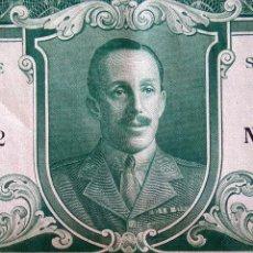 Coleccionismo Acciones Españolas: COLECCION 4 ACCIONES,DEUDA ESPAÑA AÑO 1930,REY ALFONSO XIII EN UNIFORME MILITAR,TITULO AL PORTADOR. Lote 54996096