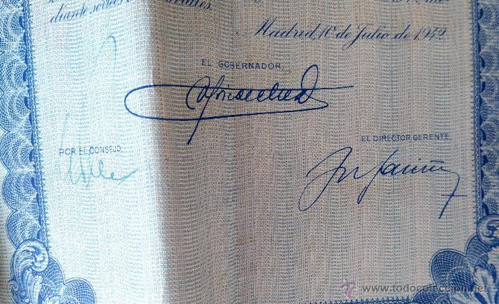Coleccionismo Acciones Españolas: COLECCION 4 ACCIONES,DEUDA ESPAÑA AÑO 1930,REY ALFONSO XIII EN UNIFORME MILITAR,TITULO AL PORTADOR - Foto 7 - 54996096