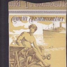Coleccionismo Acciones Españolas: ACCION COMPAÑIA TRANSMEDITERRANEA 1963. Lote 55049146
