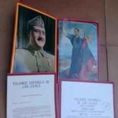 Coleccionismo Acciones Españolas: FALANGE ESPAÑOLA DIVISIÓN AZUL TOMELLOSO BONO DE AYUDA 1985. Lote 60126935