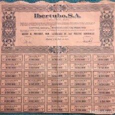 Coleccionismo Acciones Españolas: ACCION DE IBERTUBO S.A. MADRID.. Lote 61987036