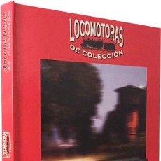 Coleccionismo Acciones Españolas: LOCOMOTORAS DE COLECCIÓN (CLUB INTERNACIONAL DEL LIBRO) 50 FICHAS DE LOCOMOTORAS: TEXTO Y FOTOS. Lote 64737943