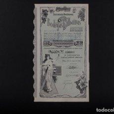 Coleccionismo Acciones Españolas: BODEGAS BILBAINAS, BILBAO 1986. Lote 71920843