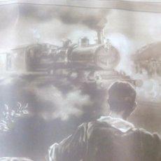 Coleccionismo Acciones Españolas: ASOCIACION GENERAL DE EMPLEADOS Y OBREROS DE LOS FERROCARRILES DE ESPAÑA. TITULO DE SOCIO.. Lote 73172019