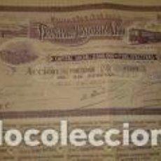 Coleccionismo Acciones Españolas: TRANVIA DE MONDARIZ A VIGO ACCION 50 PESETAS. SERIE C. AÑO 1919. Lote 196543821