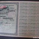Coleccionismo Acciones Españolas: ACCIÓN DE MINAS DE LALEN. BILBAO, AÑO 1916.. Lote 92984550